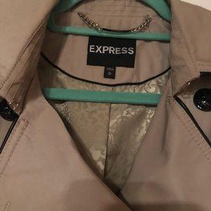 Express Khaki Trench Coat